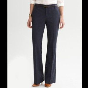Banana Republic Martin Fit gray stretch trousers